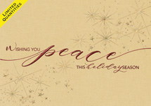 Peaceful Praise Holiday Cards